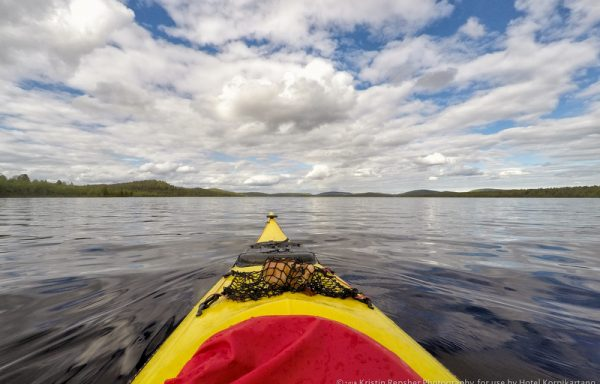 Canoeing & Kayaking at Lake Menesjärvi